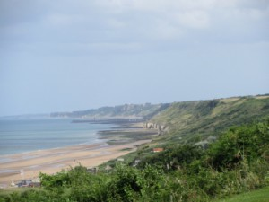Omaha Beach in der Normandie